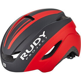 Rudy Project Volantis Kask rowerowy, black/red